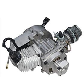49cc 2 Stroke Pull Start Engine Motor Mini Pocket PIT Quad Dirt Bike ATV 4 Wheel Accessory