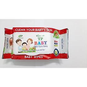 KHĂN GIẤY ƯỚT TP BABY 80 MIẾNG