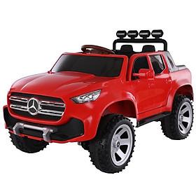 Ô tô xe điện MERCEDES ABM 3388 đồ chơi mẫu bán tải 2 chỗ (Đỏ-Đen-Xám-Trắng-Vàng)