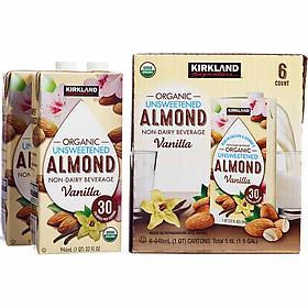Sữa Hạnh Nhân Kirkland Organic Almond Hương Vani 946 ml