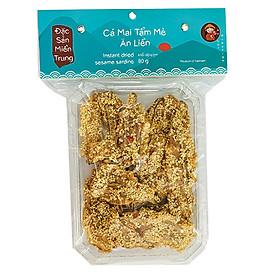 KHÔ CÁ, MỰC ăn liền các loại, thương hiệu AN LỢI (mỗi gói 50g - 110g, hút chân không) đặc sản Miền Trung