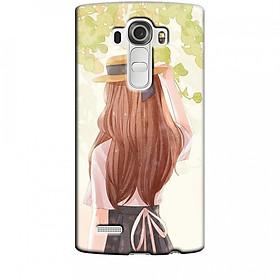 Ốp lưng dành cho điện thoại LG G4 Phía Sau Một Cô Gái