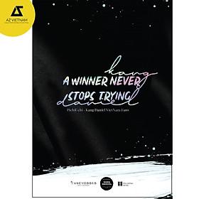 Sách - Kang Daniel – A Winner Never Stops Trying