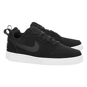 Hình đại diện sản phẩm Giày Thể Thao Nữ Nike Court Borough Low 844905-001 - Đen - Hàng Chính Hãng