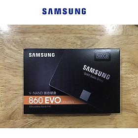 Ổ Cứng SSD Samsung 860 EVO 500GB 2.5 inch Sata 3 - Hàng Nhập Khẩu