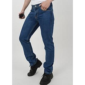 Quần Jeans Nam Form Suông Đơn Giản A91 JEANS MSTBS004ME - Xanh Denim