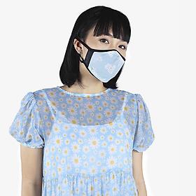 Khẩu trang thời trang cao cấp Soteria Flowers ST123 - Khẩu trang vải than hoạt tính [size S,M,L]