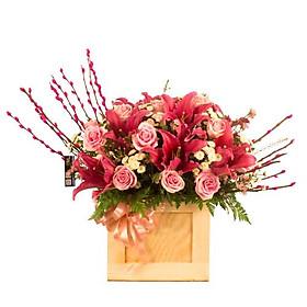 Hộp hoa tươi - Xúc Cảm Ngọt Ngào 4042