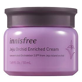 Kem dưỡng giàu dưỡng chất ngăn ngừa lão hóa sớm từ hoa lan Innisfree Jeju Orchid Enriched Cream 131170966 (50ml)