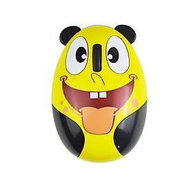 Chuột không dây mini Panda mouse mặt cười ngộ nghĩnh