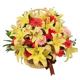 Giỏ hoa tươi - Hào Hoa Phong Nhã 4169