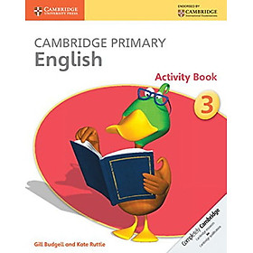 Cambridge Primary English Activity Book Stage 3 Activity Book (Cambridge International Examinations)