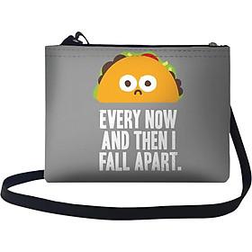 Túi Đeo Chéo Nữ In Hình Every Now & Then I Fall Apart - TUTE074