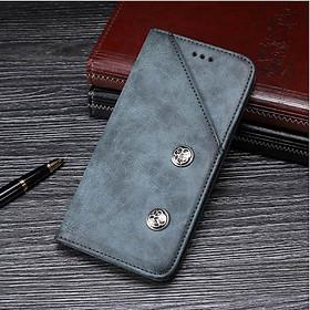 Bao Da Classic Dành Cho Blackberry Key2 Màu Xanh