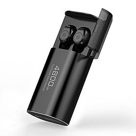 Tai nghe Bluetooth Lanith S11 kèm pin sạc dự phòng dung lượng cao – Kết nối Bluetooth 5.0 – Tai nghe không dây nghe nhạc, chơi game hiện đại – Hàng nhập khẩu