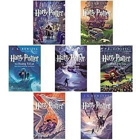 Combo Harry Potter (Trọn Bộ 7 Cuốn ) + Tặng Kèm Quà Lưu Niệm Ngẫu Nhiên