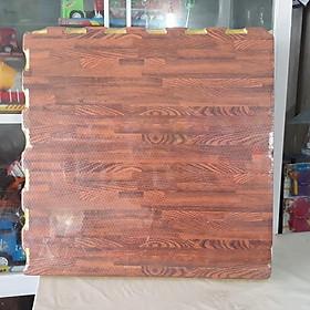 Thảm xốp ghép màu/vân gỗ (6 tấm kích thước 60*60cm)
