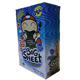 Hộp 12 gói Snack rong biển Tao Kae Noi Big Sheet vị Hải Sản (4g)
