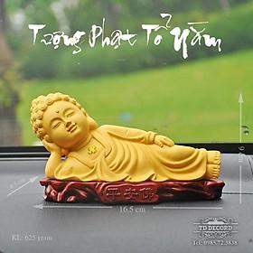 Tượng Phật Nằm , Phật Nhập Niết Bàn, Tượng Phong Thủy Trang Trí Xe Hơi, Để Bàn, Trang Trí Tiểu Cảnh