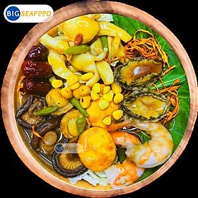 [Chỉ Giao HCM] Lẩu Bào Ngư Hải sản Thảo Dược