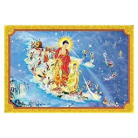 Tranh Phật Giáo Tây Phương Tiếp Dân 585