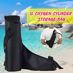 1L Scuba Diving Oxygen Cylinder Air Tank Nylon Storage Bag Underwater Breath Bag