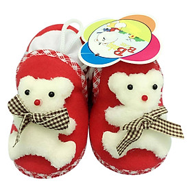 Giày Sơ Sinh Baby Rainbow Bảo Thịnh - Đỏ (11cm)