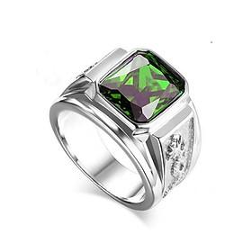 Nhẫn Nam Rồng đá nhiều màu