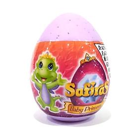Safiras IV - Trứng Rồng Siêu Nhắng - Công Chúa Rồng Trong Trứng (4 cm) - Màu Tím