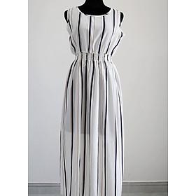 Đầm sọc  N5