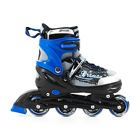 Giày Patin K400 có 1 bánh phát sáng dành cho bé từ 3 tuổi đến 10 tuổi trò chơi lành mạnh giúp bé tăng cường sức khoẻ phát triển chiều cao