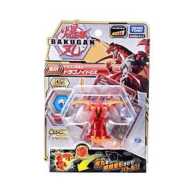 Quyết Đấu Bakugan - Siêu Chiến Binh Rồng Lửa DX Dragonoid Red - Baku014