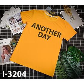 ATN-3204 Áo Phông Đôi In Chữ ANOTHER DAY