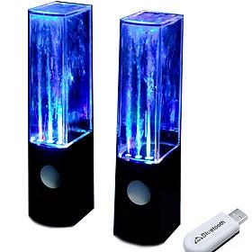 Bộ loa không dây nhạc nước 3D kết nối không dây bằng thiết bị bluetooth