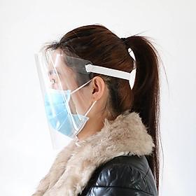 Anti-Fog Protective Mask Transparent Anti Droplet Dust-Proof Full Face Shield Anti-Oil Splash Face   Protector