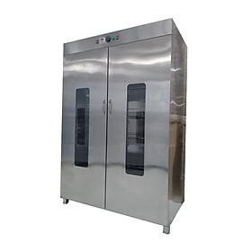 Tủ sấy bát công nghiệp inox 1200l cánh inox 2 lớp
