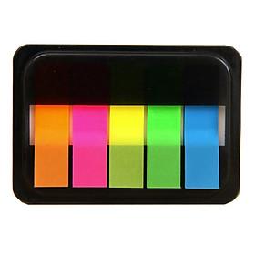 Giấy note  phân trang nhựa  màu dạ quang