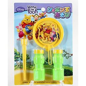 Bộ thổi bong bóng xà phòng Pooh nội địa Nhật Bản