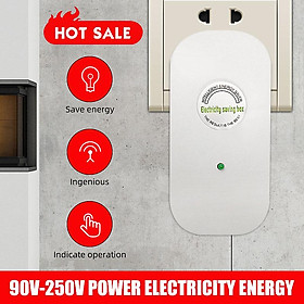 90-250V Intelligent Power Electricity Saver Box Energy Saving Device US-Plug Adaptor For Home Office Factory