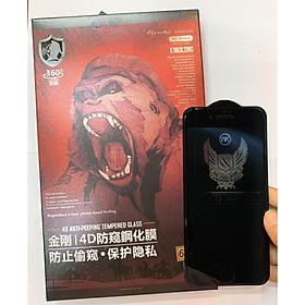 Kính Cường Lực Chống Nhìn Trộm KingKong đủ mã dán full màn Dành Cho Các Dòng Iphone - Hàng Nhập Khẩu