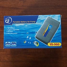 Máy sủi khí chạy pin VS-960