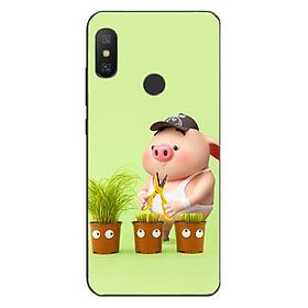 Ốp lưng dành cho điện thoại Xiaomi Mi A2 Lite/Redmi 6 Pro - Pig 21