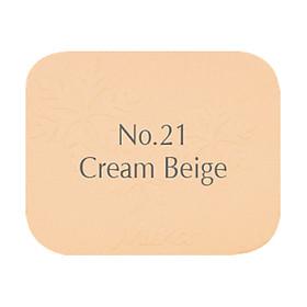 Phấn nén trang điểm siêu mịn Mira Two Way Cake Hàn Quốc 12g No.21 Cream Beige tặng kèm móc khoá-1