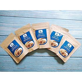 Combo 5 gói Bột Đậu tương lên men kiểu Nhật Natto Anphaco ăn dặm dành cho bé và mẹ