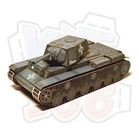 Mô hình giấy Xe tăng quân sự KV-1 (Pavel Bestr)