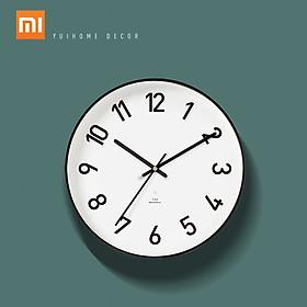 Đồng hồ treo tường Xiaomi Yuihome Decor Classic 24.8cm Tắt tiếng cho Nhà thông minh