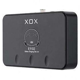 Sound card hát online cho máy tính XOX ES102 - Hàng chính hãng