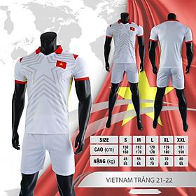 Bộ quần áo đá bóng đội tuyển Việt Nam mùa giải 21/22 - Quần áo đá banh mới nhất