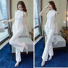 Set bộ áo và quần tơ lụa phong cách cực xinh BYNT4400