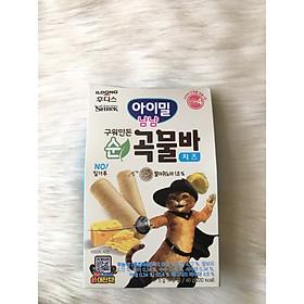 Bánh ăn dặm -Bánh cuộn ngũ cốc Ayimeal Yum Yum vị phô mai cho bé (40g)